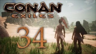 Conan Exiles — прохождение игры на русском — Носороги и слоны [#34] | PC