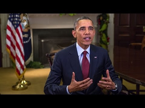 Calling - In this week's address, President Obama says that before Congress leaves for vacation, they should extend unemployment benefits for 1.3 million hardworking A...