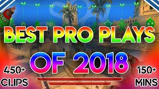 Video THE ULTIMATE BEST CS:GO PRO PLAYS OF 2018! (150+ MINUTES OF HIGHLIGHTS) MP3, 3GP, MP4, WEBM, AVI, FLV Juni 2019