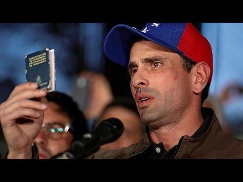 Venezuela : le principal opposant déclaré inéligible pendant 15 ans