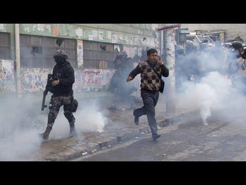 Ausschreitungen in Bolivien: Kokabauern fürchten um E ...