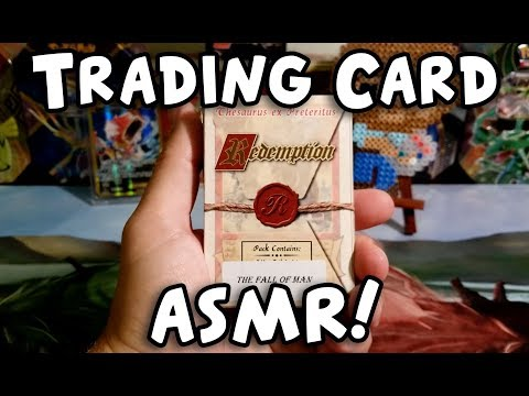 The best way to relax... Trading Card ASMR!