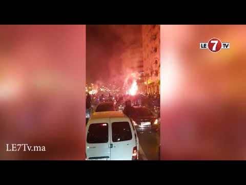 العرب اليوم - شاهد: احتفالات مدينة طنجة وأجواء رائعة بمناسبة الإنجاز التاريخي
