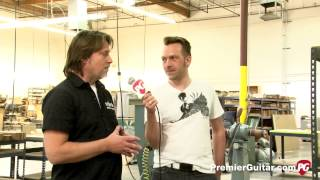 Schecter Custom Shop Tour Part 1