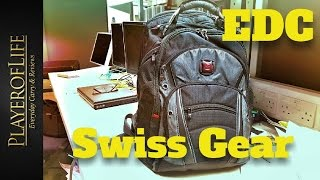 "Hi, this is my EDC work backpack, its a Swiss gear 15.6"" , its great quality, very well made, great zippers, and lots of pockets, the ..."