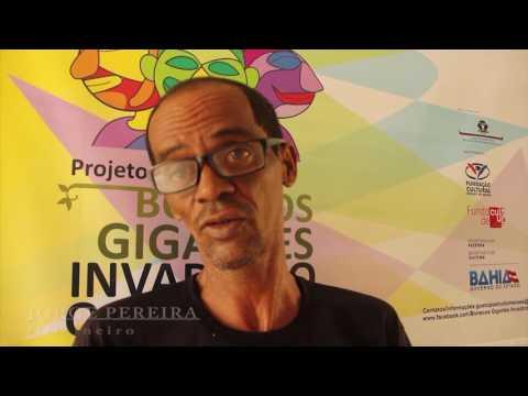Projeto Bonecos Gigantes Invadindo o Oeste em São Félix do Coribe