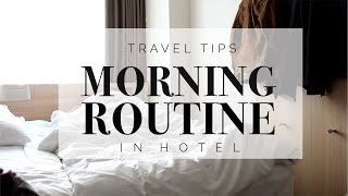 Hotel Morning Routine | Serena Matcha Latte