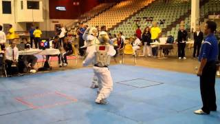 Samantha Leidel From Florida Taekwondo College at USAT Florida State Championships 2011  Rd2