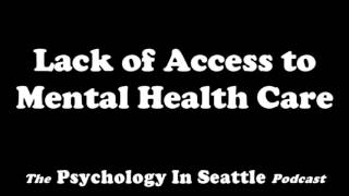 Dr. Kirk Honda talks with Bob Goettle about the lack of access to mental health care.The Psychology In Seattle Podcast. June 28, 2017.Email: Contact@PsychologyInSeattle.comBecome a patron of our podcast by going to https://www.patreon.com/PsychologyInSeattle