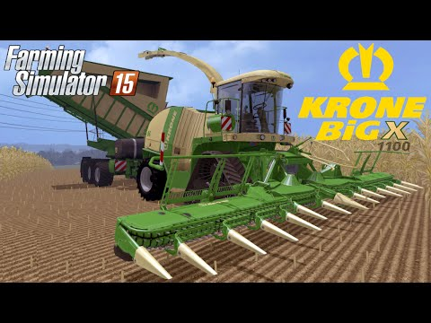 Krone BIG X 1100 Crusher v2.0