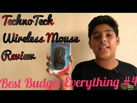 Unboxing and review of TechnoTech wireless mouse👍 | Best Budget Everything #4