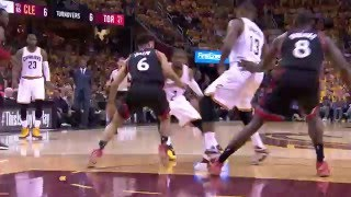 Kyrie Irving Shows Off His Handles Before Finishing at the Basket by NBA