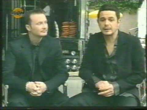 the Corrs & Alejandro Sanz - Making of the videoclip 'Una Noche'
