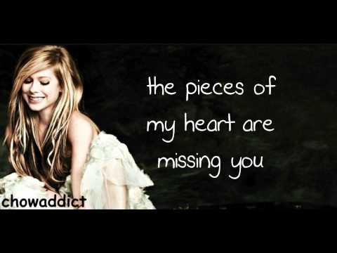 Avril Lavigne - When You're gone lyrics on screen (hd)