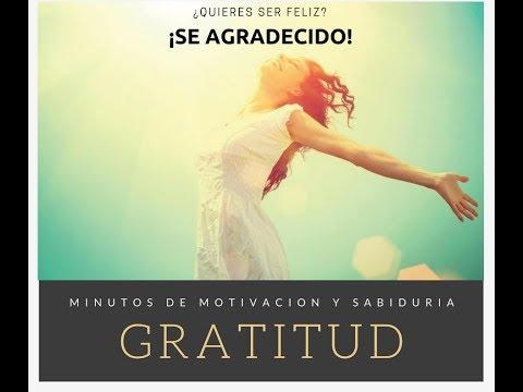 ¿Quieres ser feliz?… ¡Se agradecido!