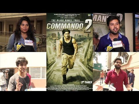 Public Review Of Film Commando 2 | Vidyut Jammwal | Adah Sharma | Esha Gupta
