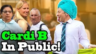 "Video Cardi B, Bad Bunny, J Balvin - ""I Like It"" - SINGING IN PUBLIC!! MP3, 3GP, MP4, WEBM, AVI, FLV Agustus 2018"