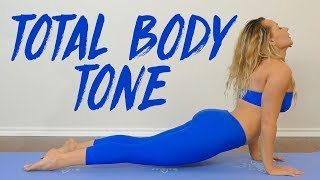 ♥ Help Support This Channel @ http://www.patreon.com/psychetruthJoin Our Monthly Subscription:Wellness PLUS: https://psychetruth.vhx.tv↓ Follow Me! Social Media Links Below ↓Total Body Yoga Burn with Becca  20 Minute Workout, Tone & Sculpt Beginners Home FitnessBecca teaches a class for toning and sculpting the entire body to give you a great cardio workout that also improves your flexibility and strength.Wardrobe by Dragonfly Brand Yoga Pants & Clotheshttp://www.dragonflybrand.com/Follow our Social Media https://www.instagram.com/psychetruthhttp://www.facebook.com/psychetruthvideoshttp://www.pinterest.com/psychetruthhttp://www.twitter.com/psychetruthhttp://www.youtube.com/psychetruthhttp://www.psychetruth.netRelated Videos Yoga Workout for Weight Loss & Butt Building 20 Minute Beginners Friendly https://www.youtube.com/watch?v=6otz7ij1Q2MYoga for Weight Loss with Becca- Total Body Sculpt! 20 Minute Workout Routine for Belly Fat https://www.youtube.com/watch?v=TIYbnaBMVBoYoga for Weight Loss & Belly Fat, Complete Beginners Fat Burning Workout at Home, Exercise Routine https://www.youtube.com/watch?v=WmSIMpIDa_ATotal Body Sculpt with Becca! Weight Loss Workout Yoga & Pilates, Beginners Fitness Routine https://www.youtube.com/watch?v=hu1WI4Qhg1cMusic by iChill Music Factory Song: Summer HazeAlbum: Dream Awayhttp://www.ichillmusic.com © Copyright 2017 Target Public Media, LLC. All Rights Reserved.