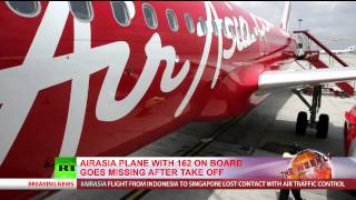 AirAsia Flight QZ8501 With 160+ On Board Goes Missing After Take-off