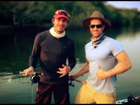 Dale Steyn goes fishing with Top Billing