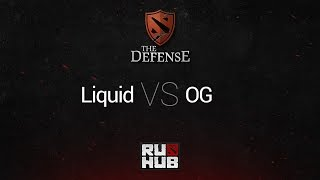 OG vs Liquid, game 1