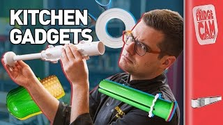 6 Kitchen Gadgets - Tested By Idiots | FridgeCam by SORTEDfood