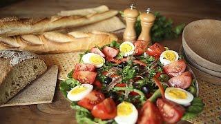 Salada niçoise francesa