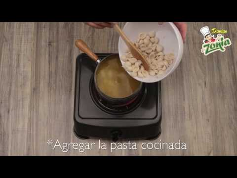 Sopa de conchitas | PASTAS ZONIA