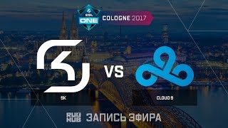 SK vs Cloud9 - ESL One Cologne 2017 - Grand Final - map1 - de_cobblestone [ceh9, yXo, Enkanis]