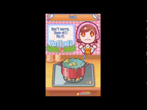 Lets Play Cooking Mama Episode 1 I Cant Blow On The Mic