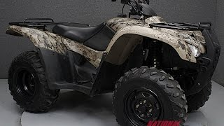 10. 2013  HONDA  TRX420 FOURTRAX RANCHER 4X4    - National Powersports Distributors