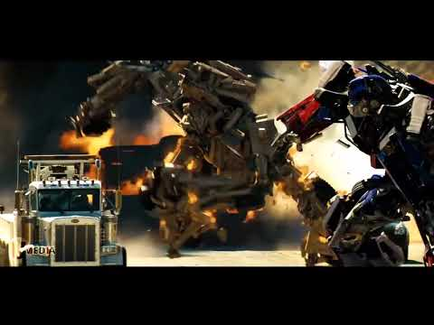 Transformers 2007 Final battle Part 1 Optimus Prime vs BoneCrusher Movie Clip Full HD