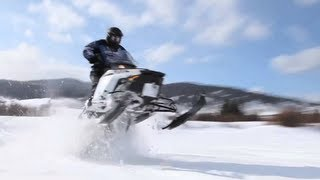 9. 2013 Polaris Switchback 600 Snowmobile Review