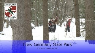 Grantsville (MD) United States  city images : New Germany State Park - A Winter Wonderland