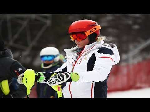 Debut of Mikaela Shiffrin delayed by strong winds at the PyeongChang Olympic Winter Games.