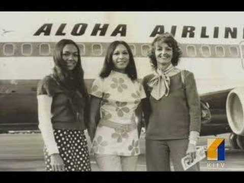 Aloha Airlines Flight Attendant Retires After 50 Years