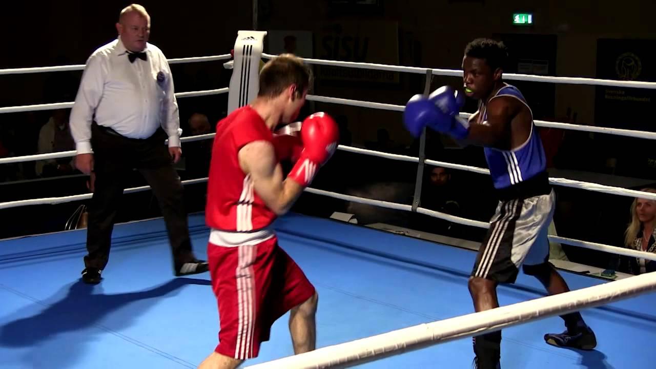 Bager Mohammadi vs Atanas Mugerwa – Finale SM Boxning 2014