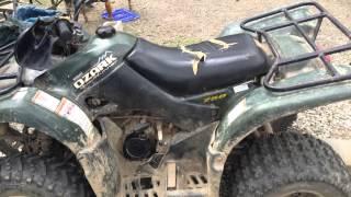9. 2004 SUZUKI OZARK 250cc Review