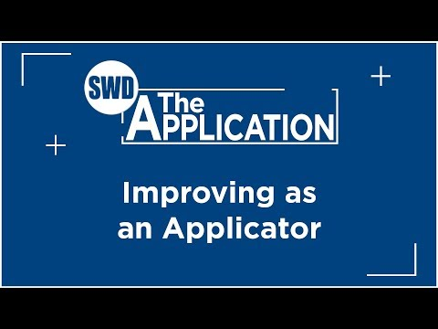 The Application: Interview w/John Thompson Part 2 (Improving as an Applicator)