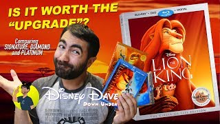 Video THE LION KING - DISNEY SIGNATURE COLLECTION Blu-ray - Is It Worth the Upgrade? MP3, 3GP, MP4, WEBM, AVI, FLV Maret 2018