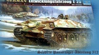 3. FULL VIDEO BUILD E-25 Panzerjäger E-Serien by Trumpeter