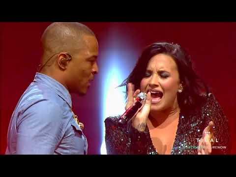 Honda Civic Tour Future  Now Philips Arena   Live Your Life Feat T I  Demi Lovato & Nick Jonas