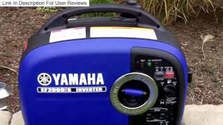 6. Yamaha EF2000iS 2000 Watt Inverter Generator Honest Review