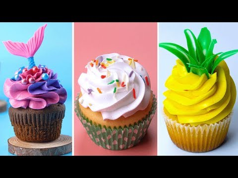 Amazing Cupcake Decorating Ideas Compilation For Party | Perfect Cake Tutorials | Tasty Plus Cake