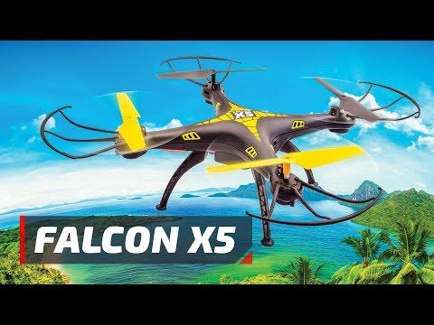 Квадрокоптер Pilotage Falcon X5, электро, RTF