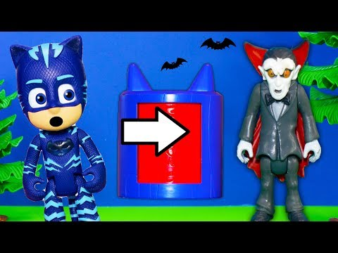 PJ Masks and Puppy Dog Pals Surprise Box within a Box Surprise with Vampirina and Paw Patrol