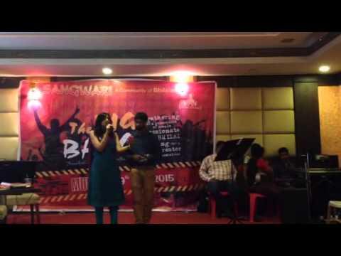 Amit Sana and Nikita Daharwal singing: Tere Bina Zindagi se koi (Aandhi)