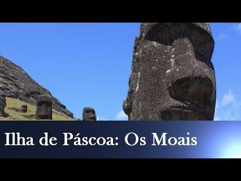 Ilha da Páscoa - Os moais da Ilha de Páscoa estão envolvidos por vários mistérios. Os verdadeiros motivos que levaram o povo Rapanui a construí-los, o seu significado e como ...
