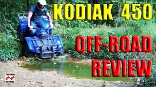 1. 2004 Yamaha Kodiak 450 Test Review - Full Throttle Review