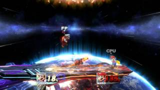 My Overpowered Mario Amiibo vs. Lv.9 Mario